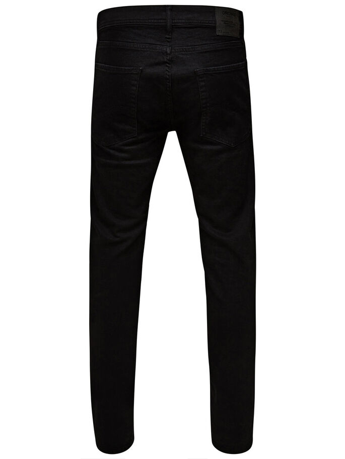 BEN ORIGINAL SC 616 SKINNY FIT JEANS, Black Denim, large