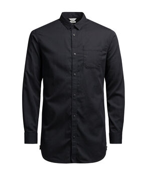 ZIP DETAIL LONG SLEEVED SHIRT