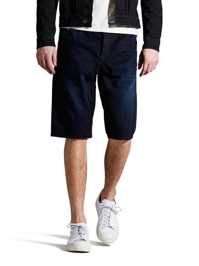 DRIFT AKM 600 LONG SHORTS, Blue Denim, large