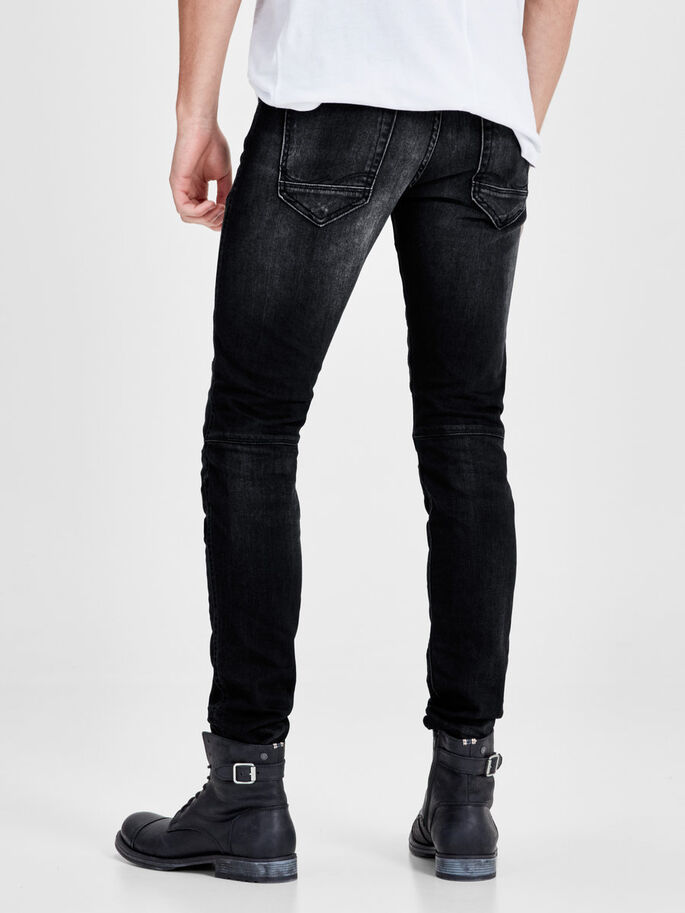 GLENN JAX BL 662 JEAN SLIM, Black Denim, large