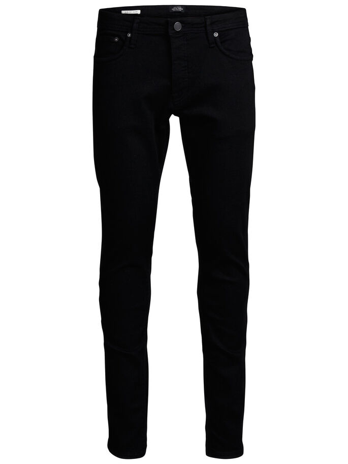 GLENN FELIX AM 046 SLIM FIT JEANS, Black Denim, large