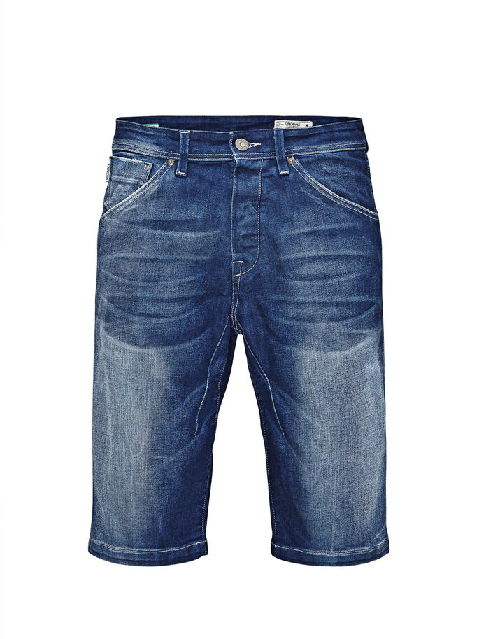 TRISTAN BL 262 LONG FARKKUSHORTSIT, Blue Denim, large