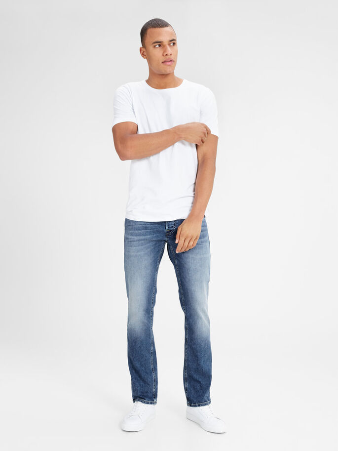 JJICLARK JJORIGINAL JJ 993 NOOS REGULAR FIT JEANS, Blue Denim, large