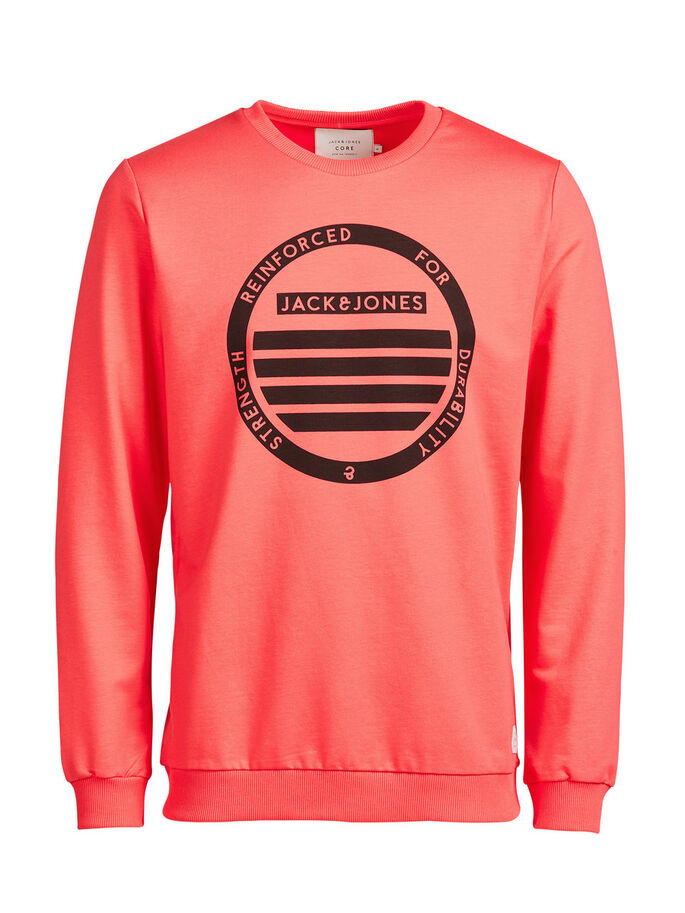 GRAPHIC SWEATSHIRT, Cayenne, large