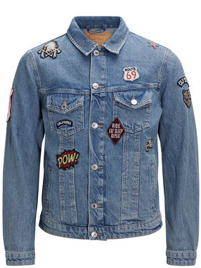 PATCH DENIMJAKKE