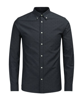 SLIM FIT CAMISA DE MANGA LARGA