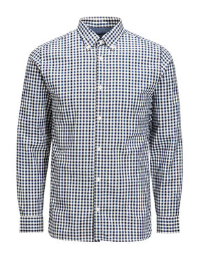 GINGHAM CHECK LONG SLEEVED SHIRT