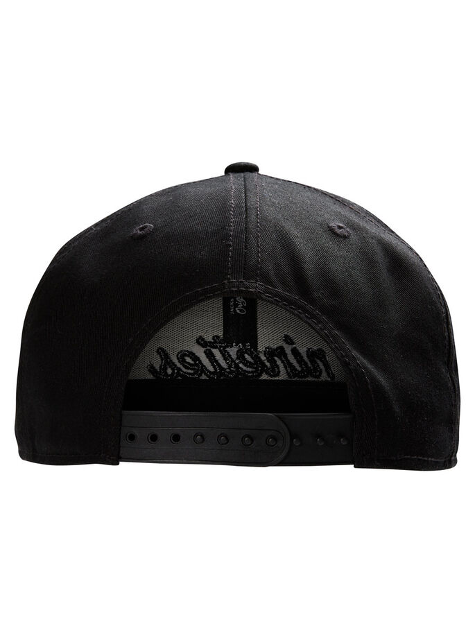 SHORT CAP, Black, large