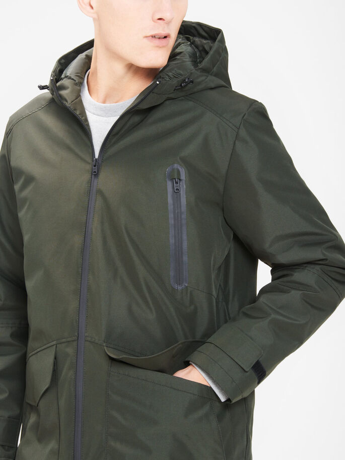 WATERPROOF JACKET, Rosin, large