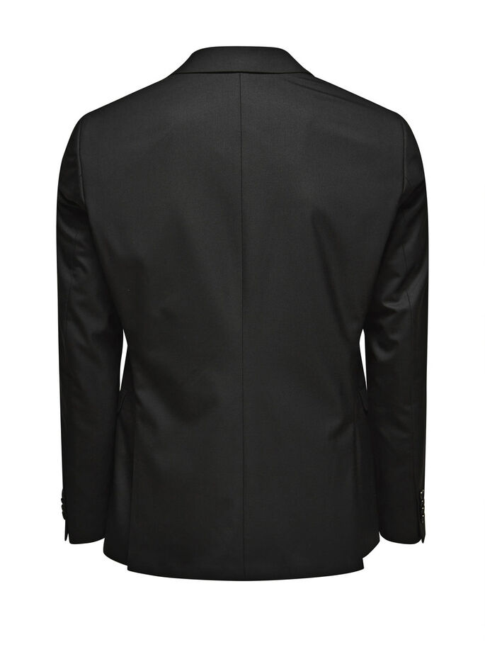 KLASSISK SORT SLIM FIT BLAZER, Black, large
