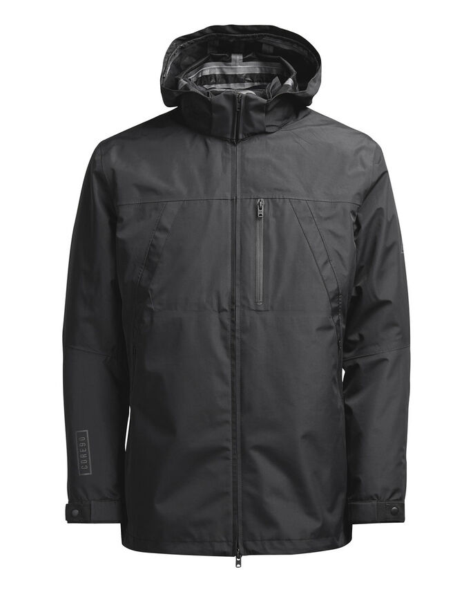 WEATHERPROOF 4 IN 1 JACKET, Black, large