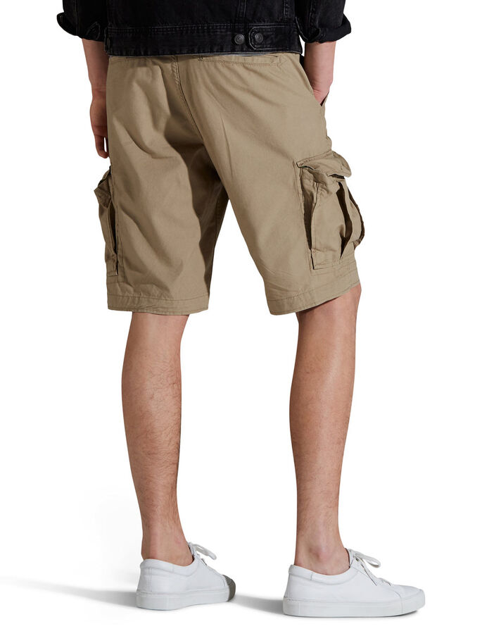 PRESTON CARGO SHORTS, Chinchilla, large