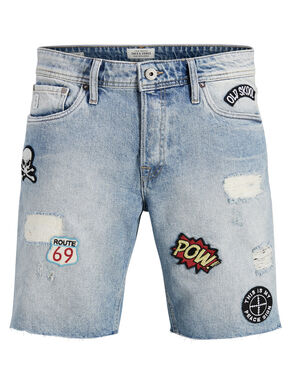 RICK JOS PATCH 158 STS SHORTS IN DENIM