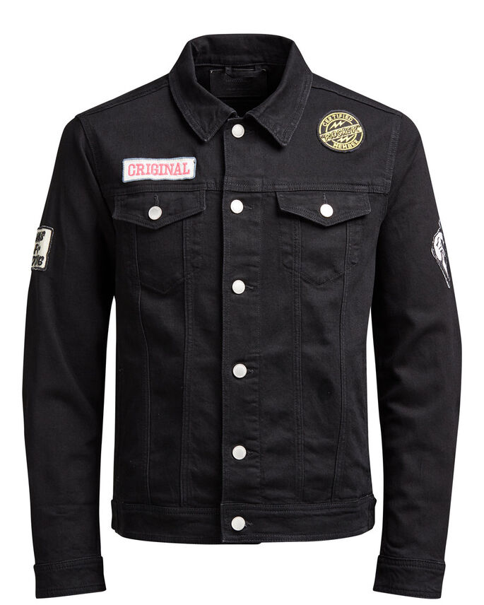 JEAN JACK ET AKM 199 FARKKUTAKKI, Black Denim, large