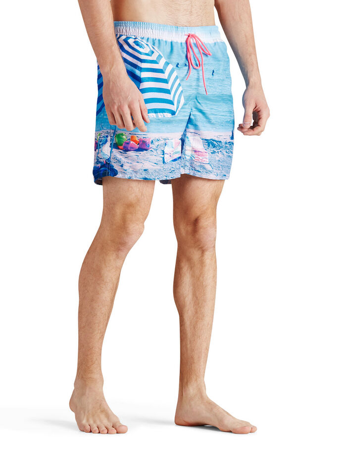 PHOTOPRINT SWIMSHORTS, Bluebird, large