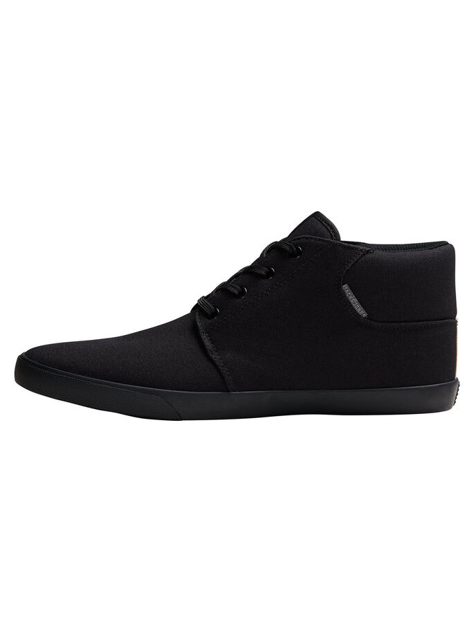 CANVAS SNEAKERS, Black, large