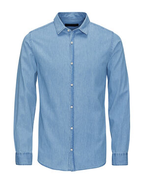 SHARP DENIM LONG SLEEVED SHIRT