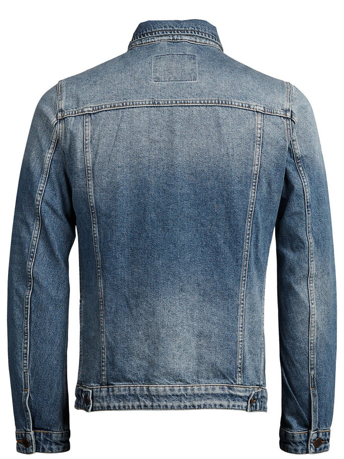 ALVIN DENIM JACKET, Blue Denim, large