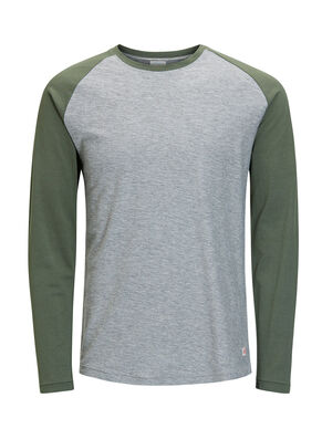 CASUAL LONG-SLEEVED T-SHIRT