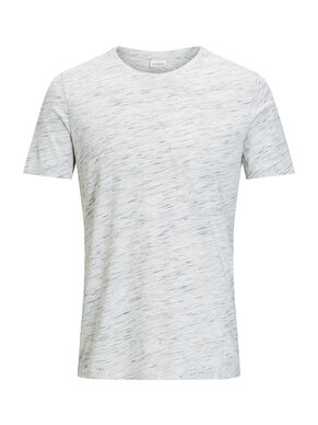 FLECKED MELANGE T-SHIRT