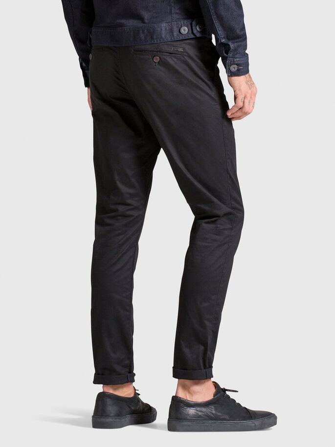 MARCO EARL AKM 165 BLACK CHINO, Black, large