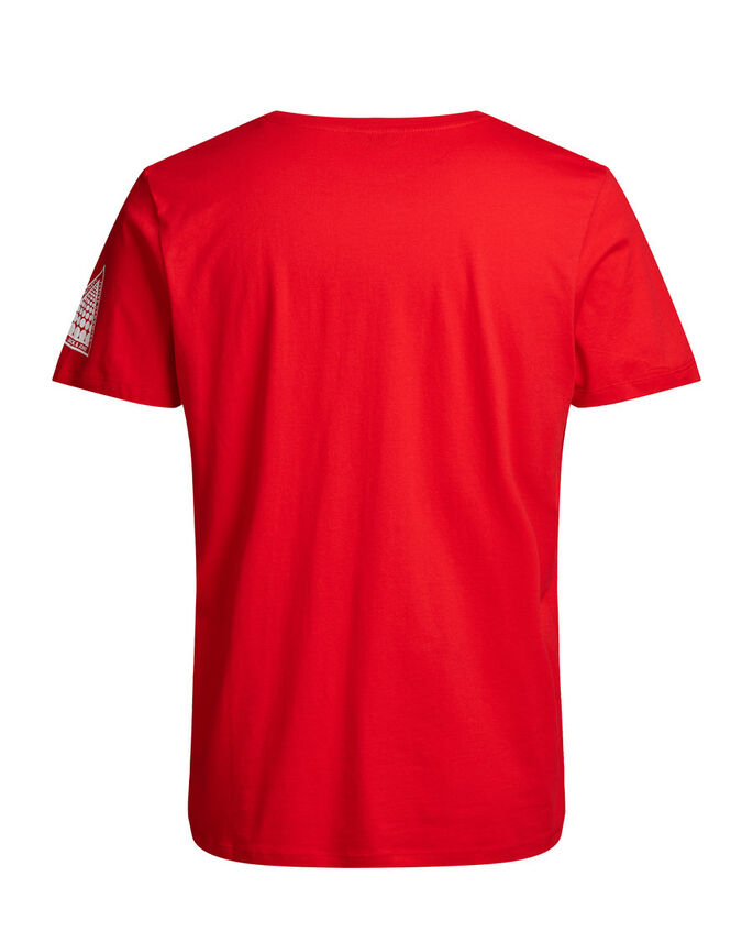 GRÁFICO OVERSIZE CAMISETA, Fiery Red, large