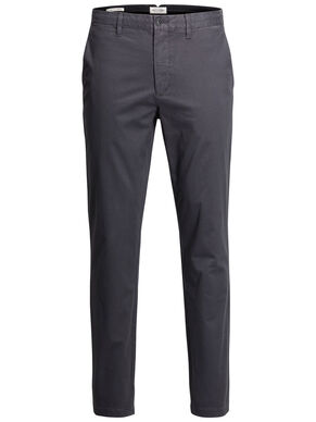 MARCO ENZO DARK GREY CHINOS
