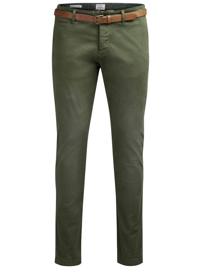 CODY LORENZO AKM 195 CHINOS, Olive Night, large