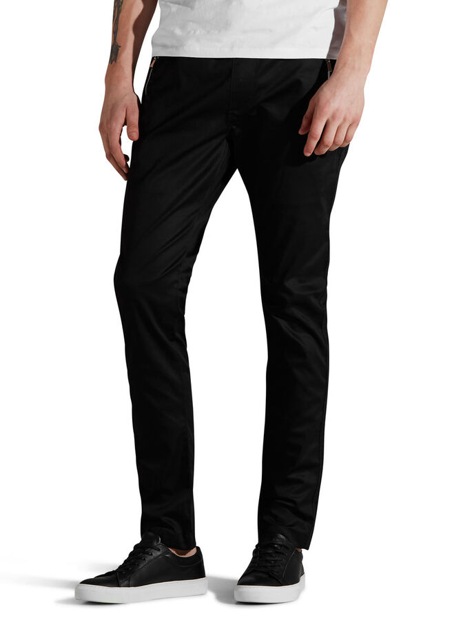 MARCO TREND CHINOS, Black, large