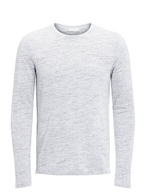 MELANGE LONG SLEEVE T-SKJORTE