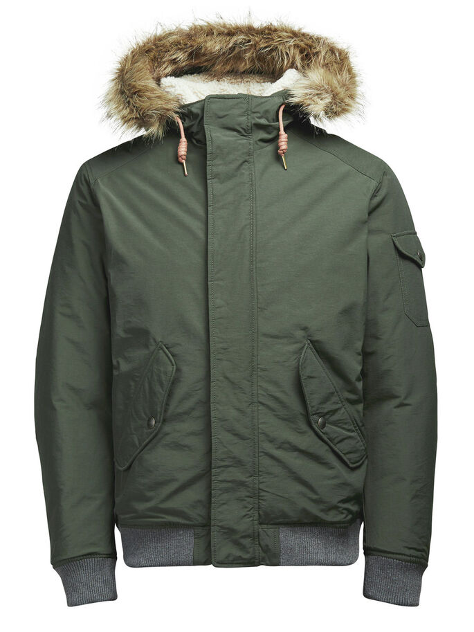 PADDED JACKET, Rosin, large