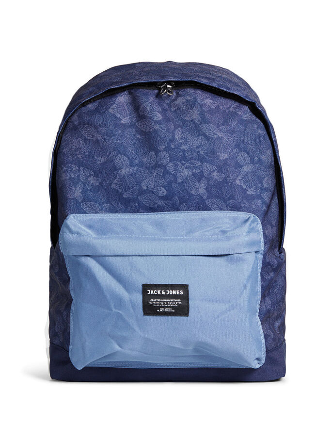 PRINT BACKPACK, China Blue, large