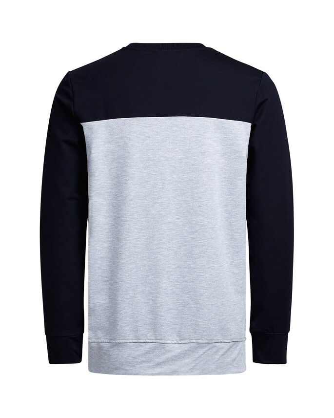 CREW-NECK SWEATSHIRT, Navy Blazer, large
