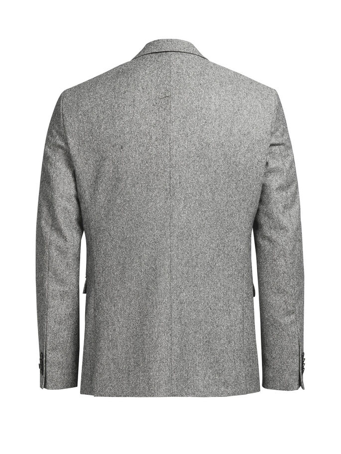 MELERET ULD BLAZER, Dark Grey, large