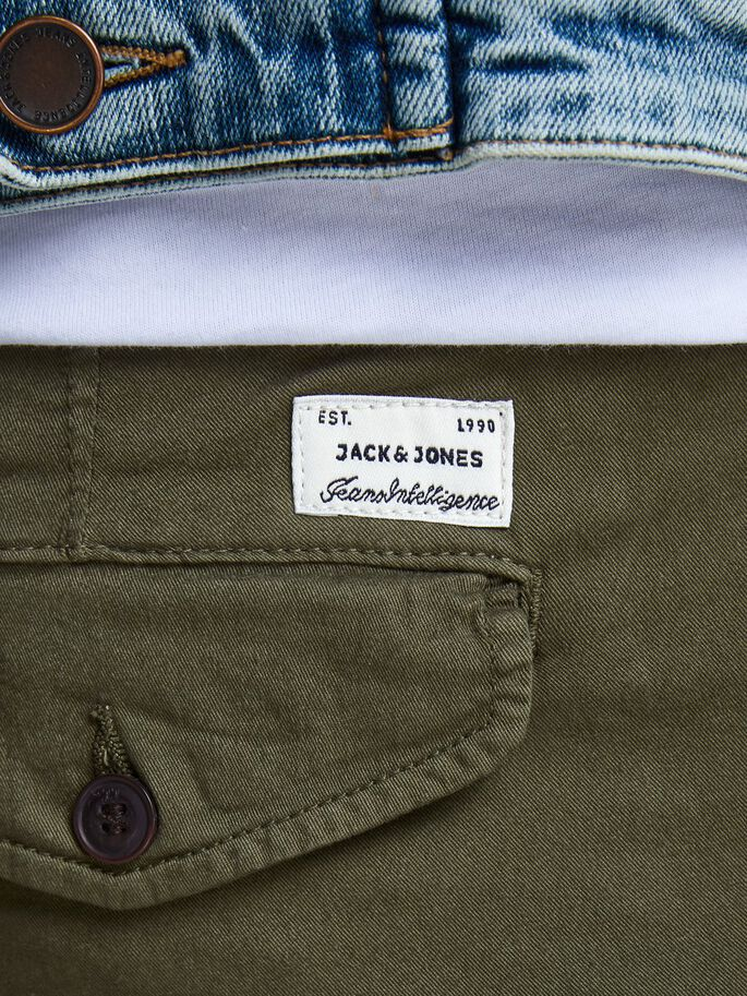 PAUL AKM 168 CARGO PANTS, Olive Night, large