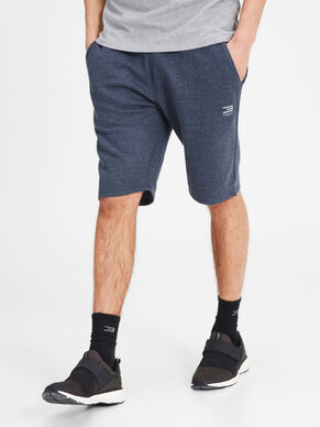 LONG SWEAT SHORTS