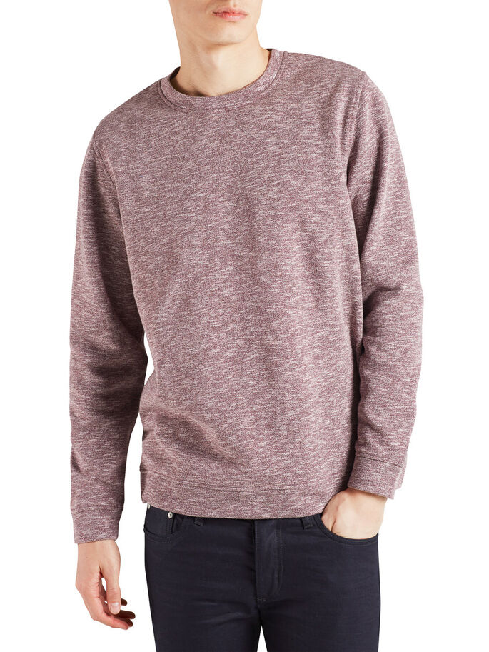 VERSATILE MELANGE SWEATSHIRT, Fig, large
