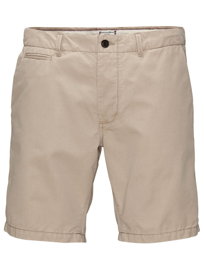 GRAHAM AKM 202 CHINO SHORT, White Pepper, large