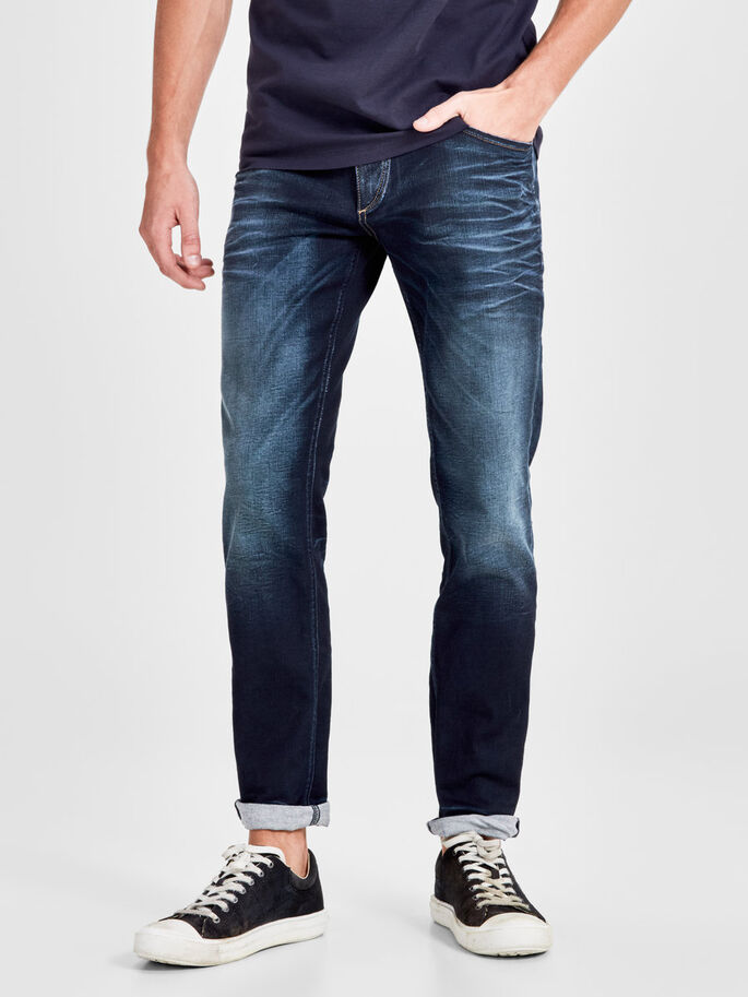 TIM ORIGINAL JOS 819 JEANS SLIM FIT, Blue Denim, large