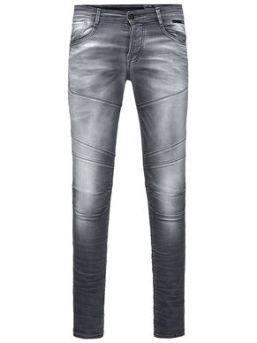 GLENN INDIGO-STRICK SLIM FIT JEANS