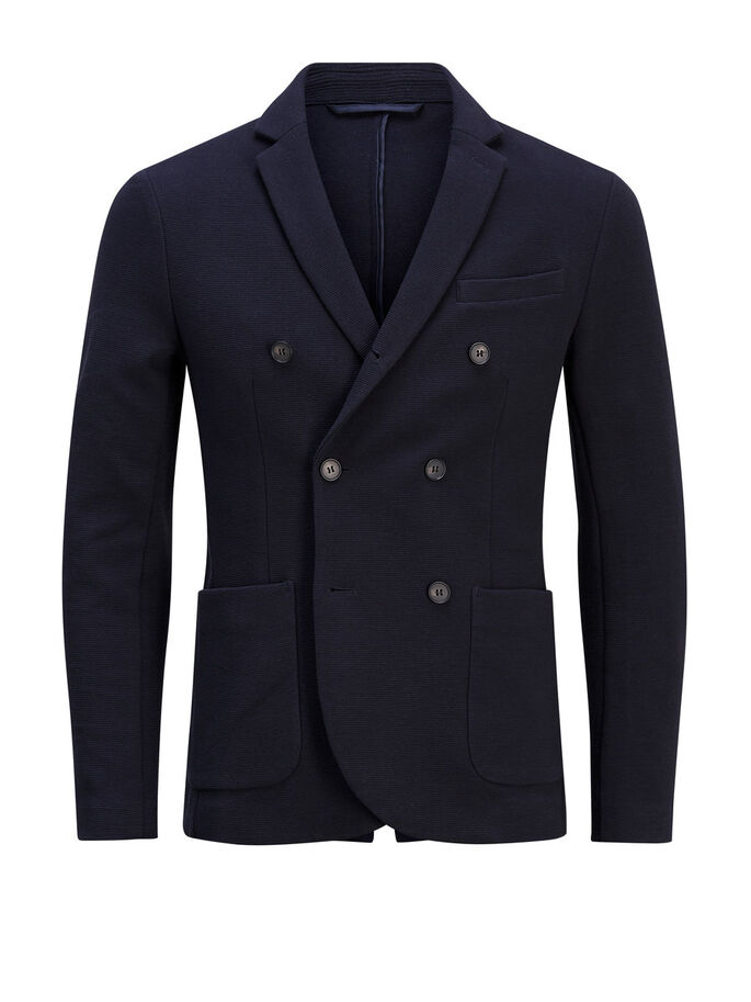 MODERNE BLAZER, Dark Navy, large