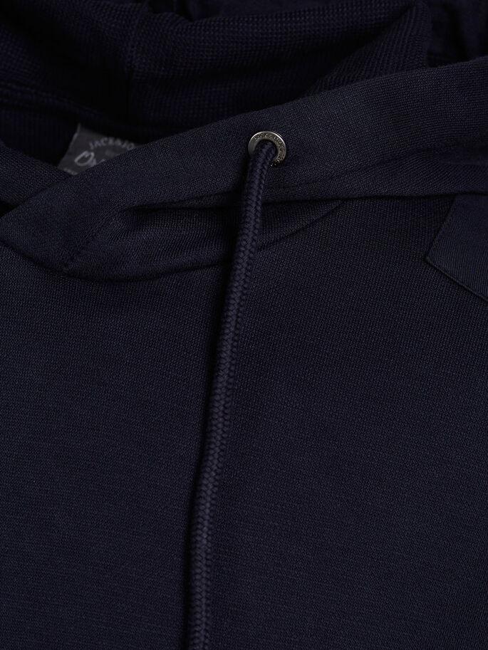 DÉCONTRACTÉ SWEAT À CAPUCHE, Navy Blazer, large