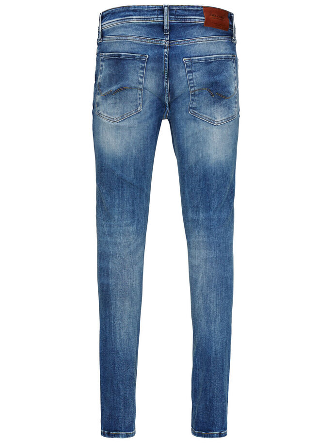 LIAM ORIGINAL JOS 485 SKINNY JEANS, Blue Denim, large