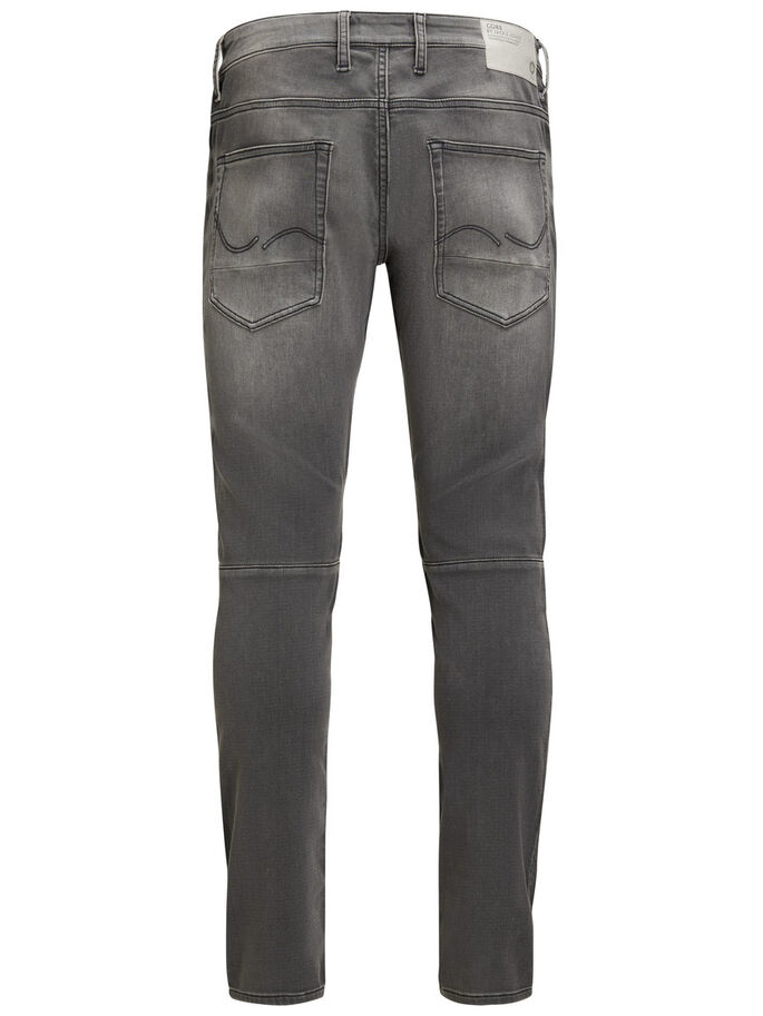 GLENN RYDER GE 106 JEANS SLIM FIT, Grey Denim, large