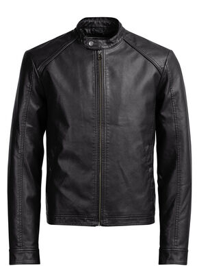FAUX LEATHER LIGHT JACKET