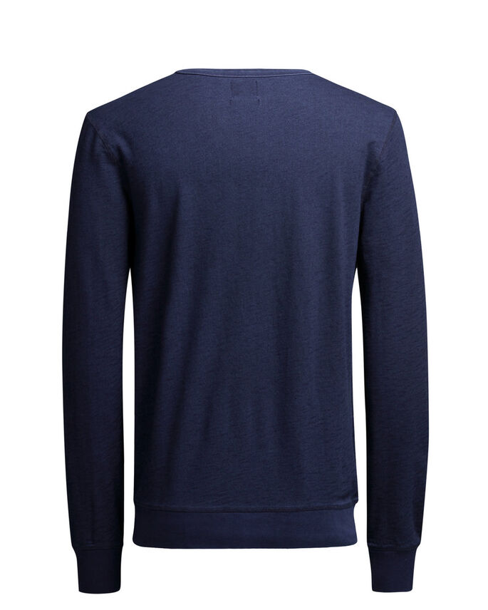 BRUT SWEAT-SHIRT, Mood Indigo, large