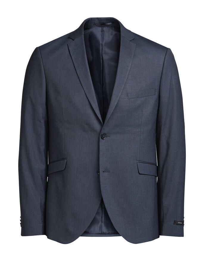 MARINEBLÅ BLAZER, Dark Navy, large