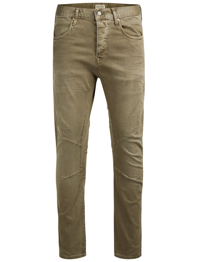 LUKE JOS 999 PANTALON, Olive Night, large