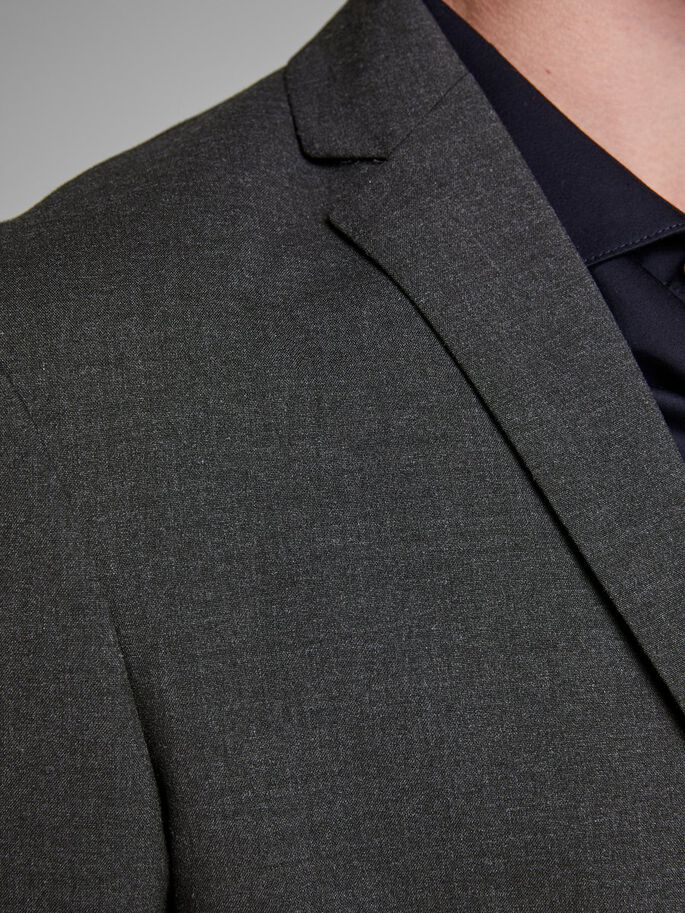 GRÅ BLAZER, Dark Grey, large