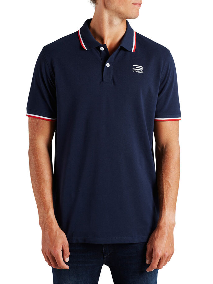 CLASSIC POLO SHIRT, Navy Blazer, large